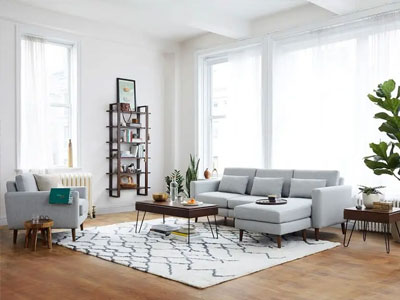 Anchor the Space With a Big Rug