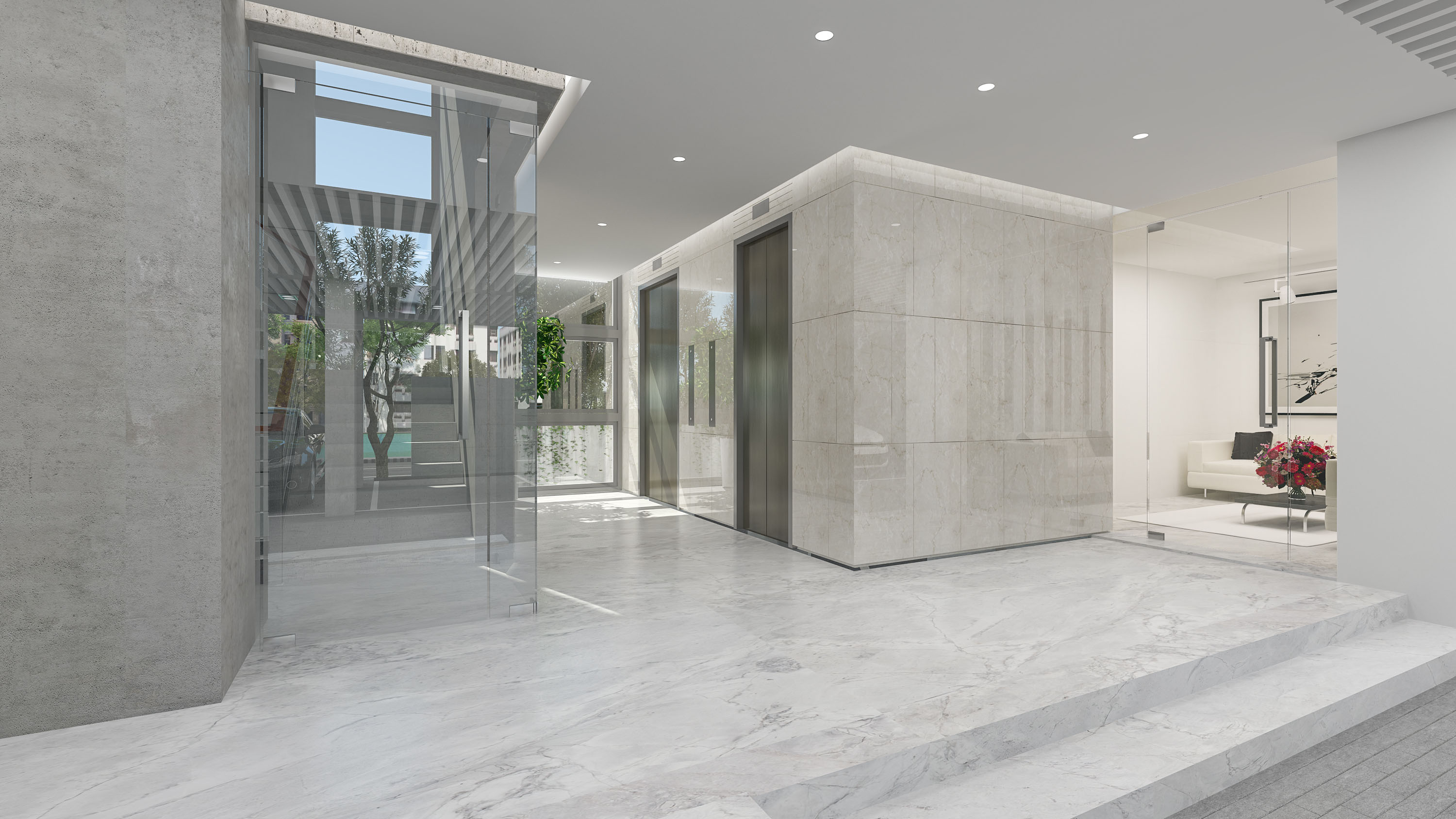 Photos of Assure Oasis Lift Lobby