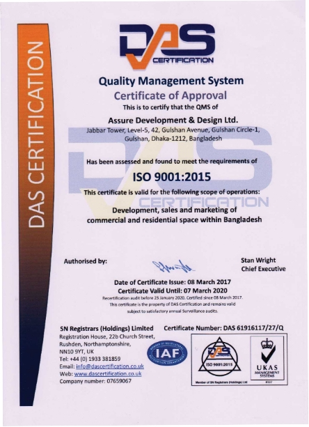 DAS Certification of Assure Group