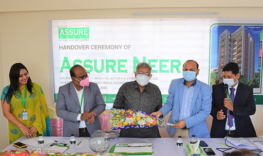 Handover Ceremony of ASSURE NEER