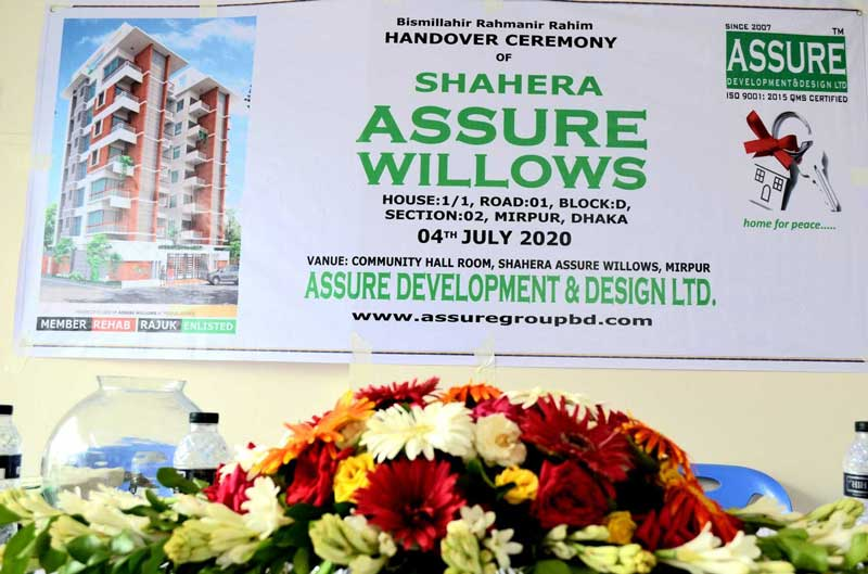 Handover of ASSURE WILLOWS
