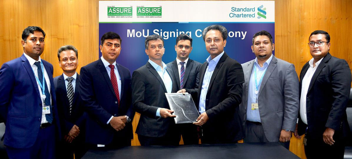 Home loan agreement with Standard Chartered Bank