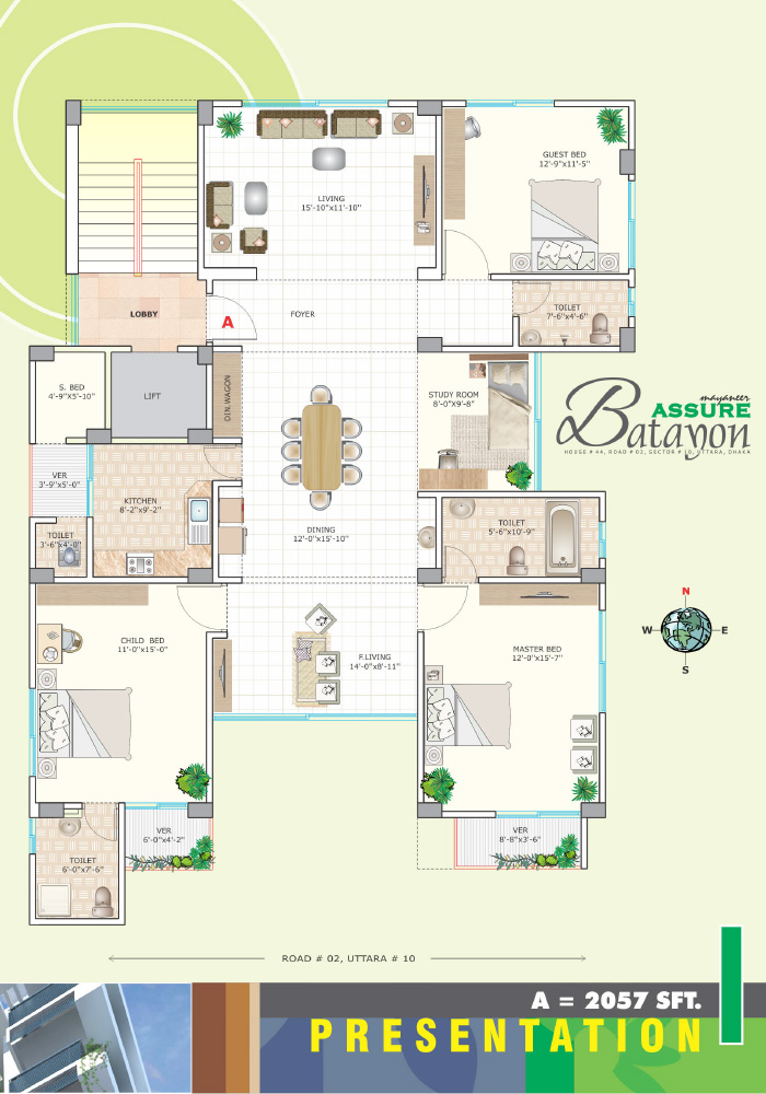 Assure Batayon Typical Floor Plan