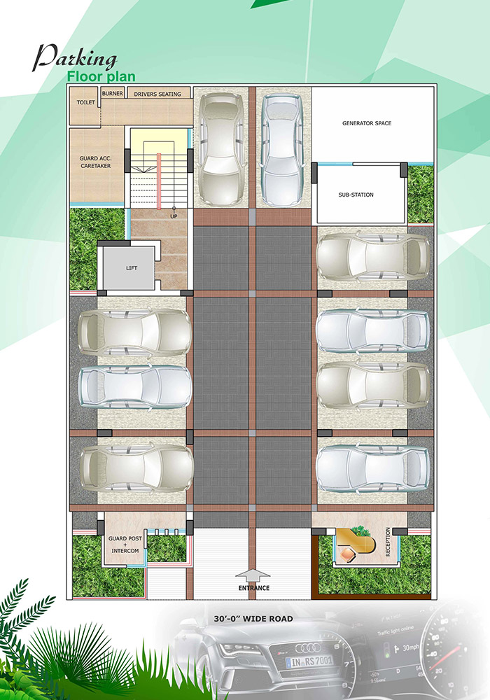 Assure Bithi Bihongo Ground Floor Plan