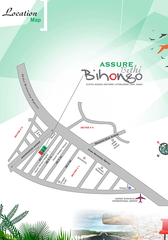 Assure Bithi Bihongo location
