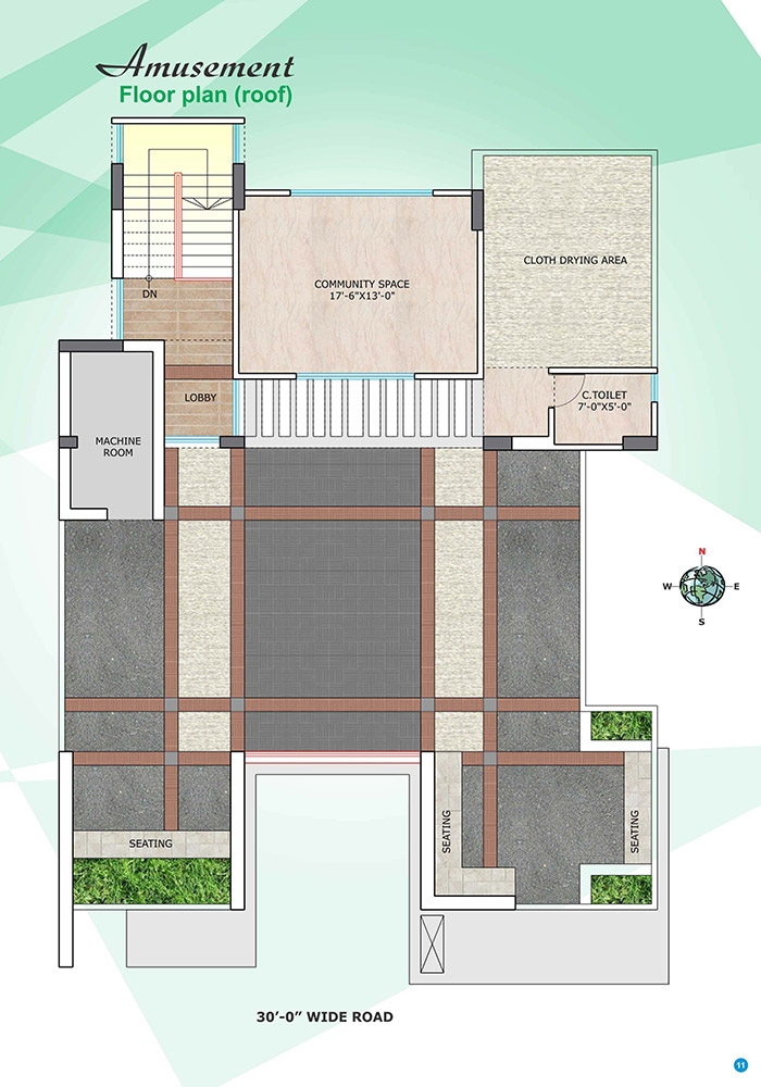 Assure Bithi Bihongo Roof Top Plan