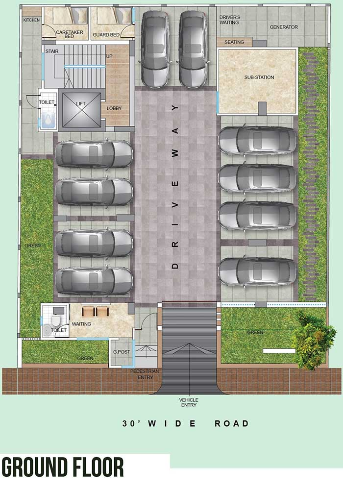 Assure Blessing Ground Floor Plan
