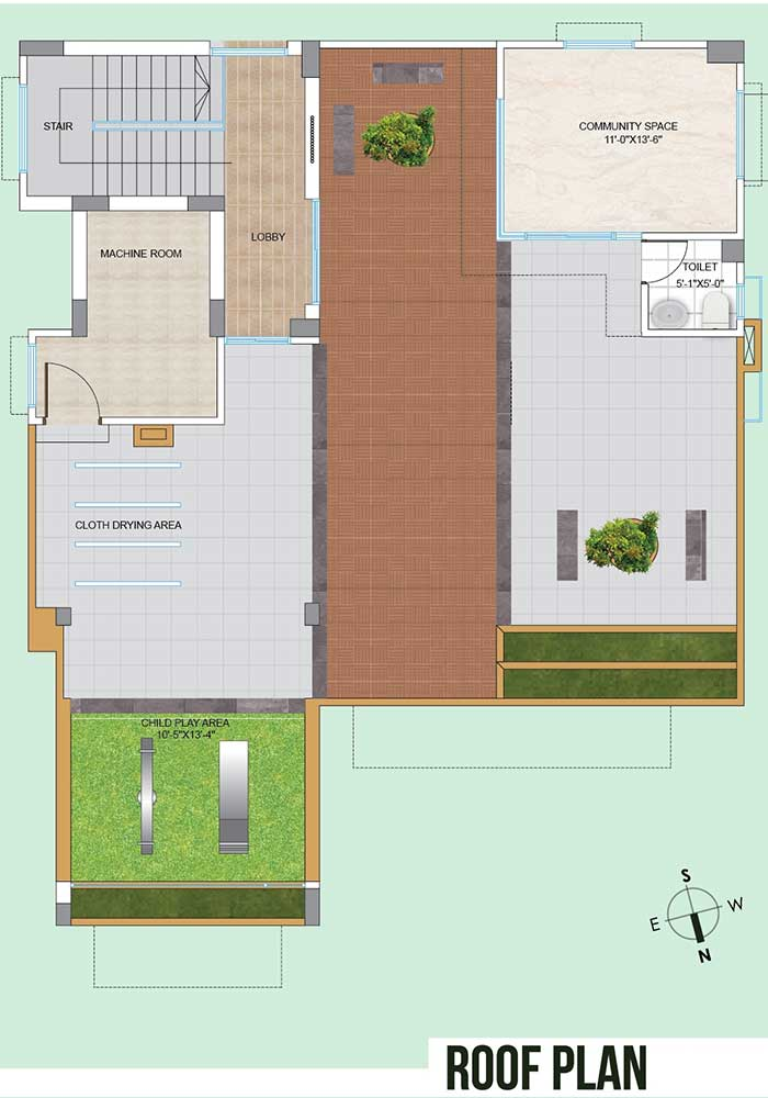 Assure Blessing Roof Top Plan