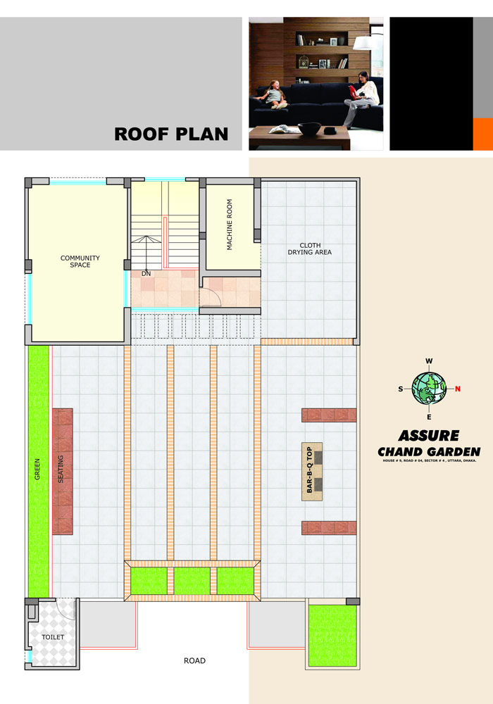 Assure Chand Garden Roof Top Plan