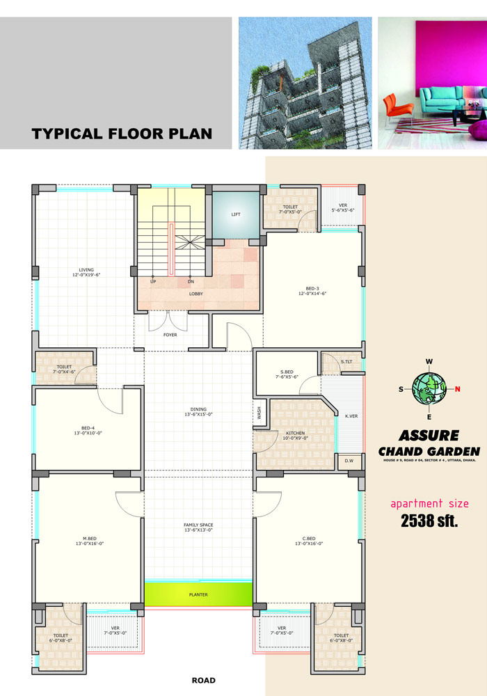 Assure Chand Garden Typical Floor Plan