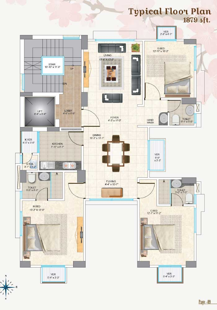 Assure Cherry Blossom Typical Floor Plan