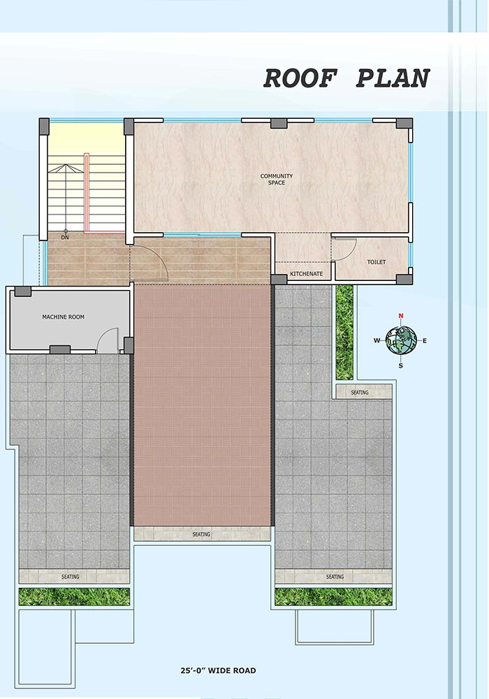 Assure Dokhin Hawa Roof Top Plan