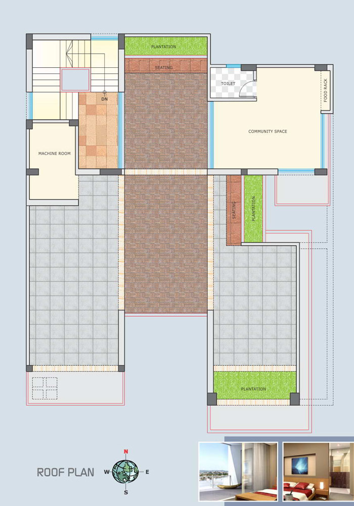 Assure Dokhina Roof Top Plan