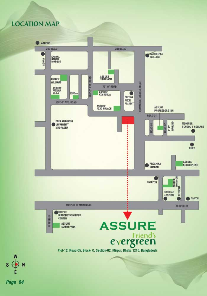 Assure Friends Evergreen location