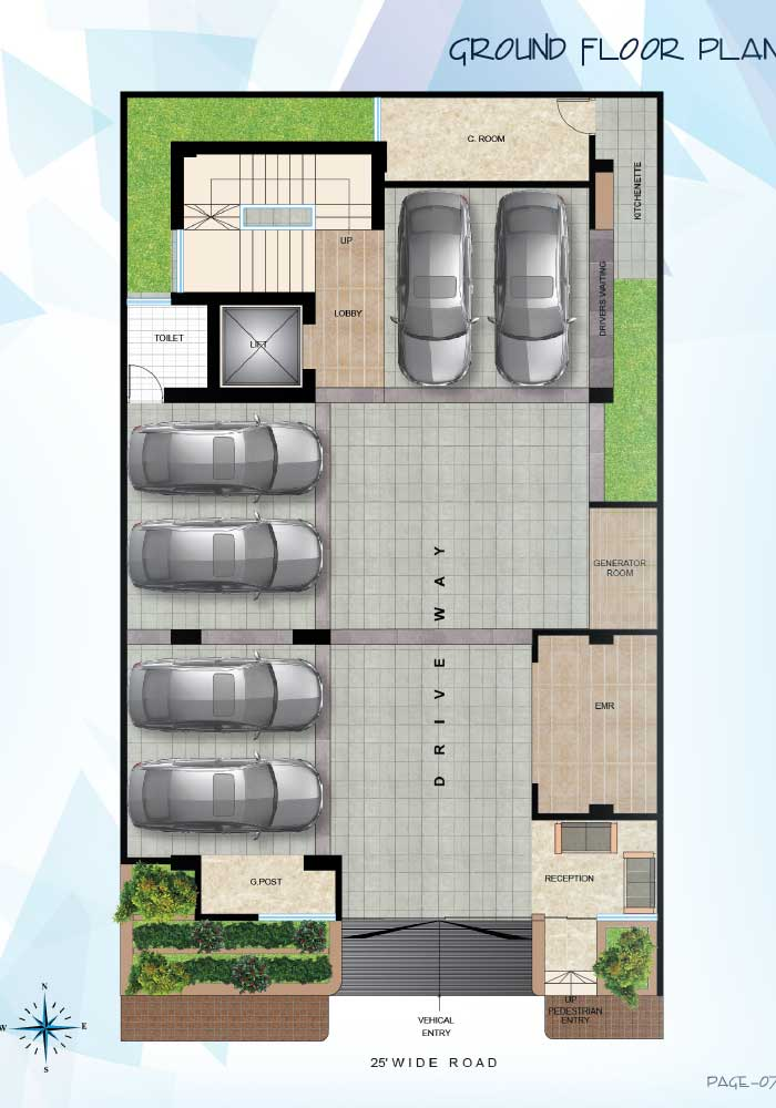 Assure Himika Ground Floor Plan