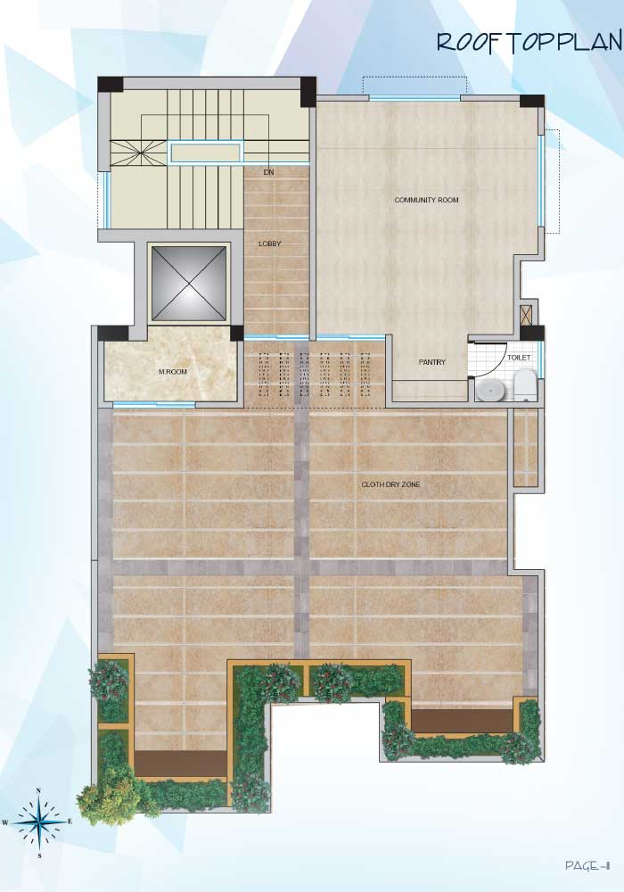 Assure Himika Roof Top Plan