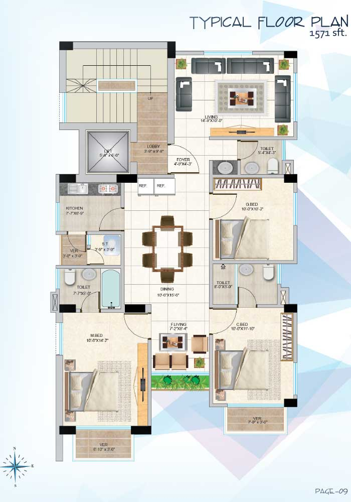 Assure Himika Typical Floor Plan