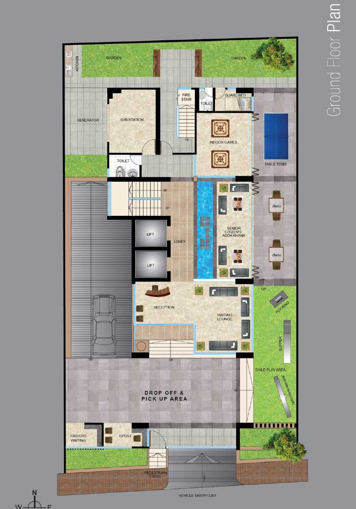 Assure Kapoti Ground Floor Plan