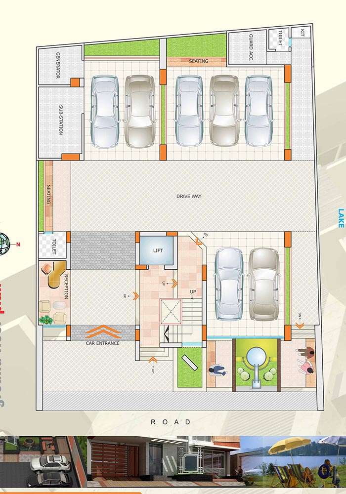 Assure Lake Breeze Ground Floor Plan