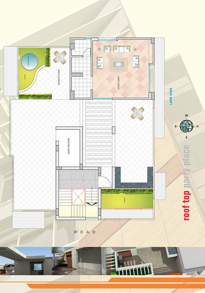 Assure Lake Breeze Roof Top Plan