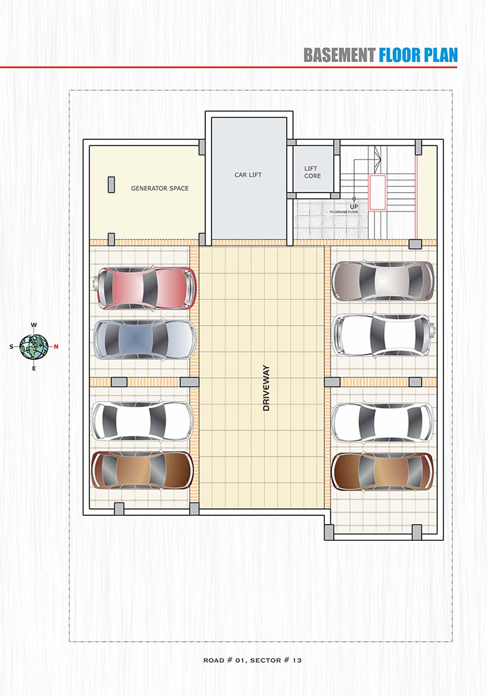 Assure Lake Vista Basement Floor Plan