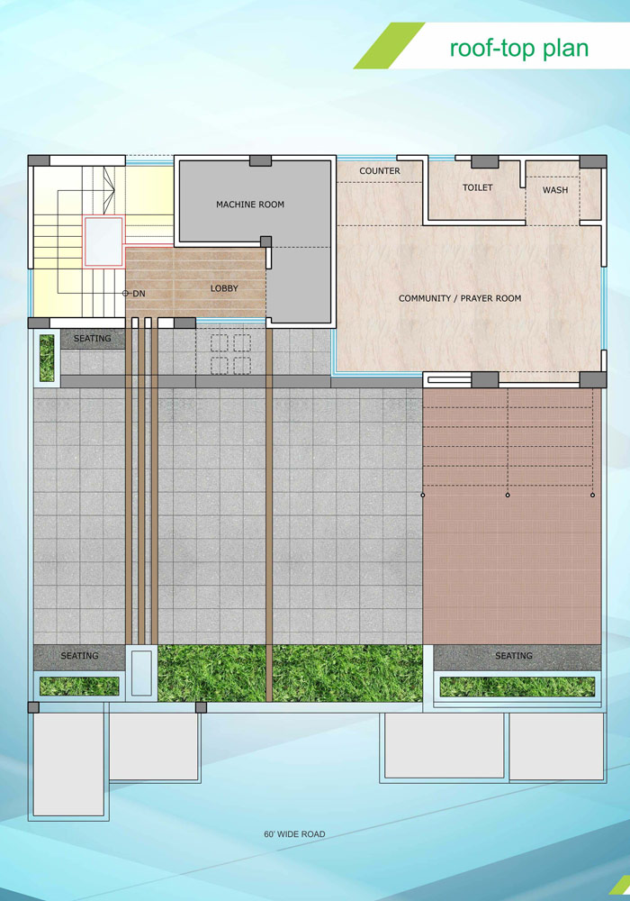 Assure Madhobilata Roof Top Plan