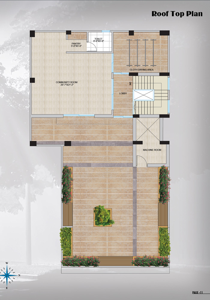 Assure Matrichaya Roof Top Plan