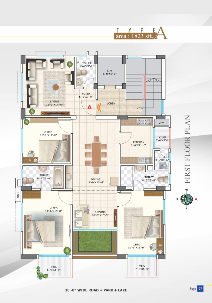 Assure Nandigram First Floor Plan