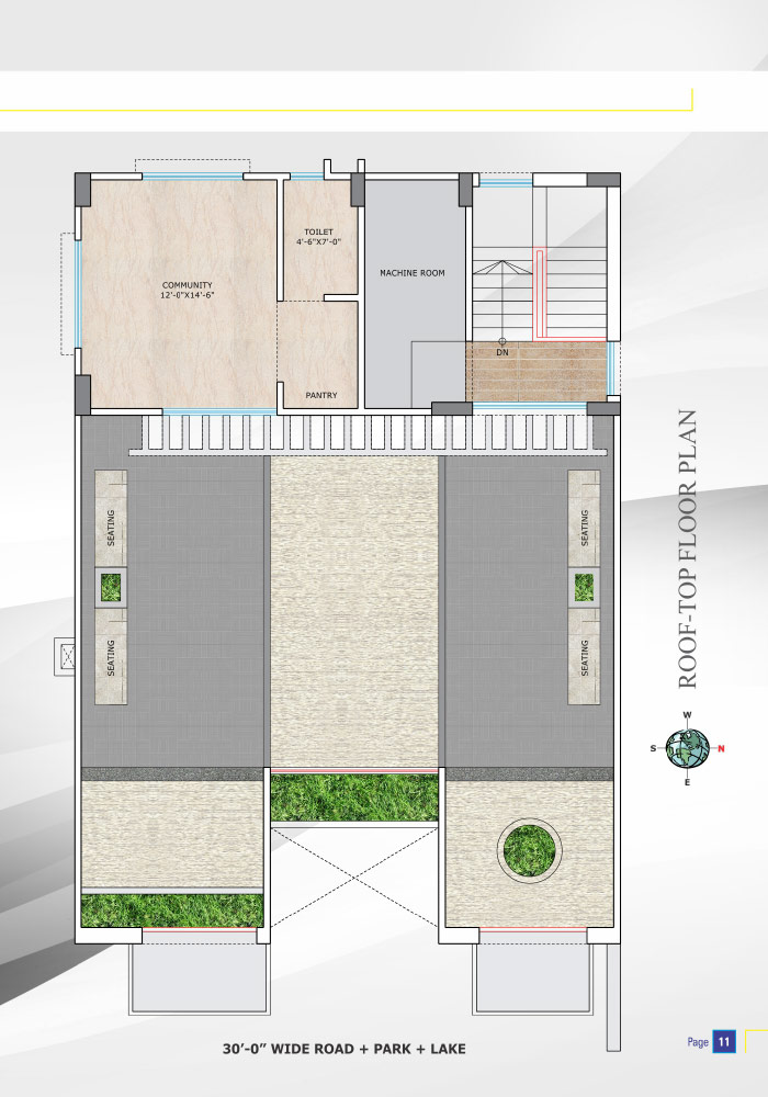 Assure Nandigram Roof Top Floor Plan