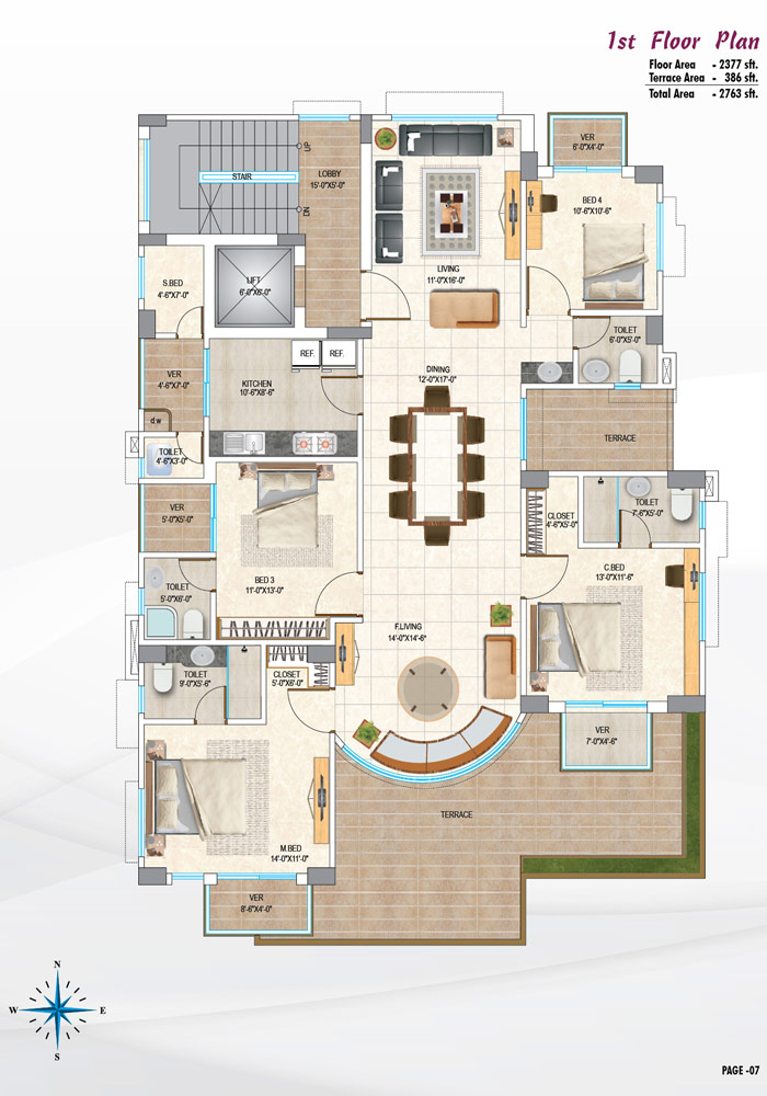 Assure Palki 1st Floor Plan