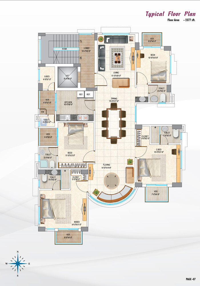 Assure Palki Typical Floor Plan