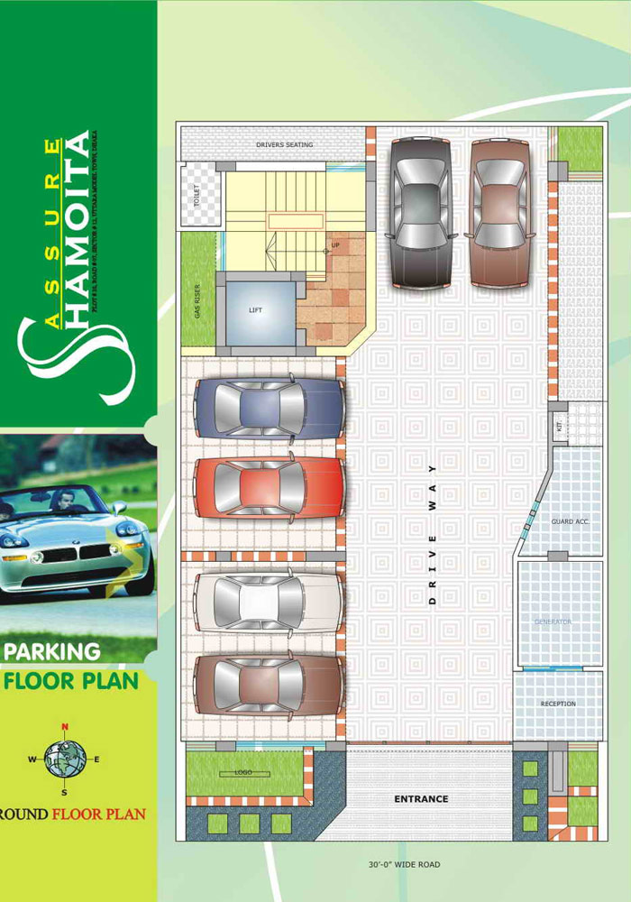 Assure Shamoita Ground Floor Plan