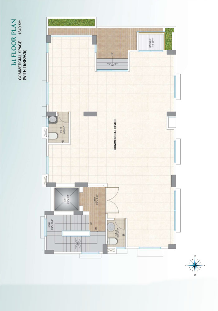 Assure Sun Shine 1st Floor Plan