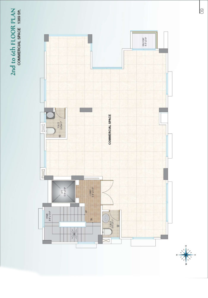 Assure Sun Shine 2nd to 6th Floorplan