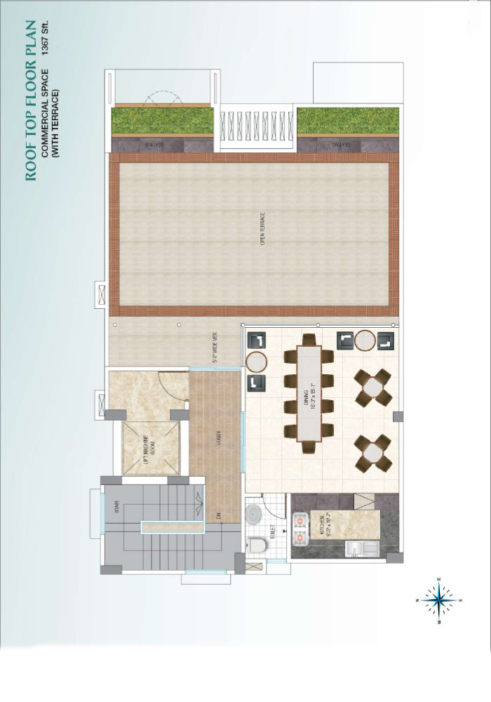 Assure Sun Shine Roof Top Floor Plan