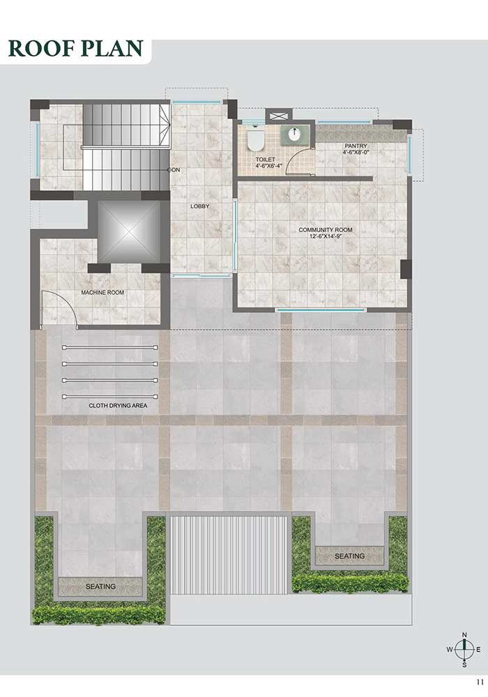 Assure Surface Roof Top Plan