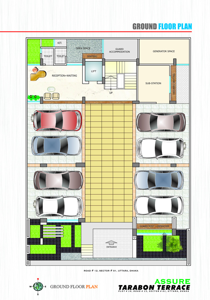 Assure Tarabon Terrace Ground Floor Plan
