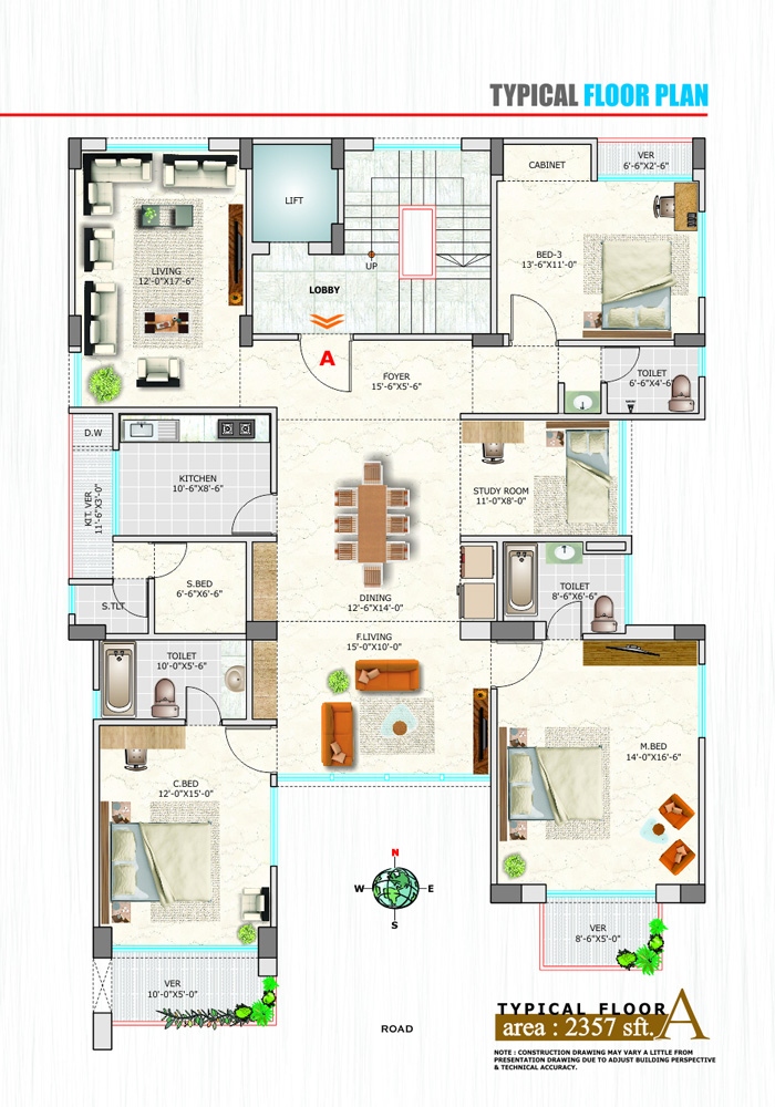 Assure Tarabon Terrace Typical Floor Plan