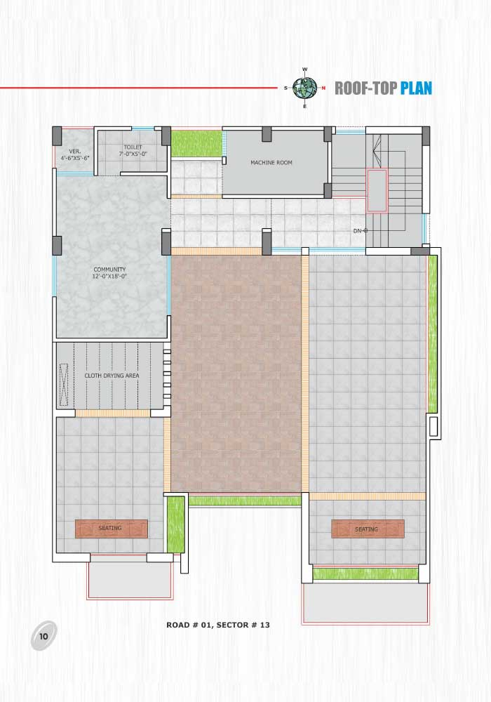 Assure Water Breeze Roof Top Floor Plan