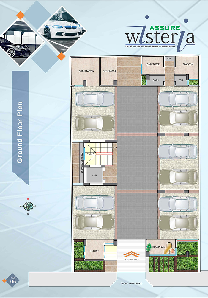 Assure Wisteria Ground Floor Plan