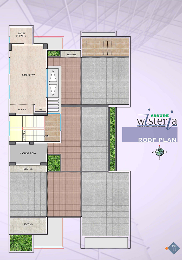 Assure Wisteria Roof Top Plan