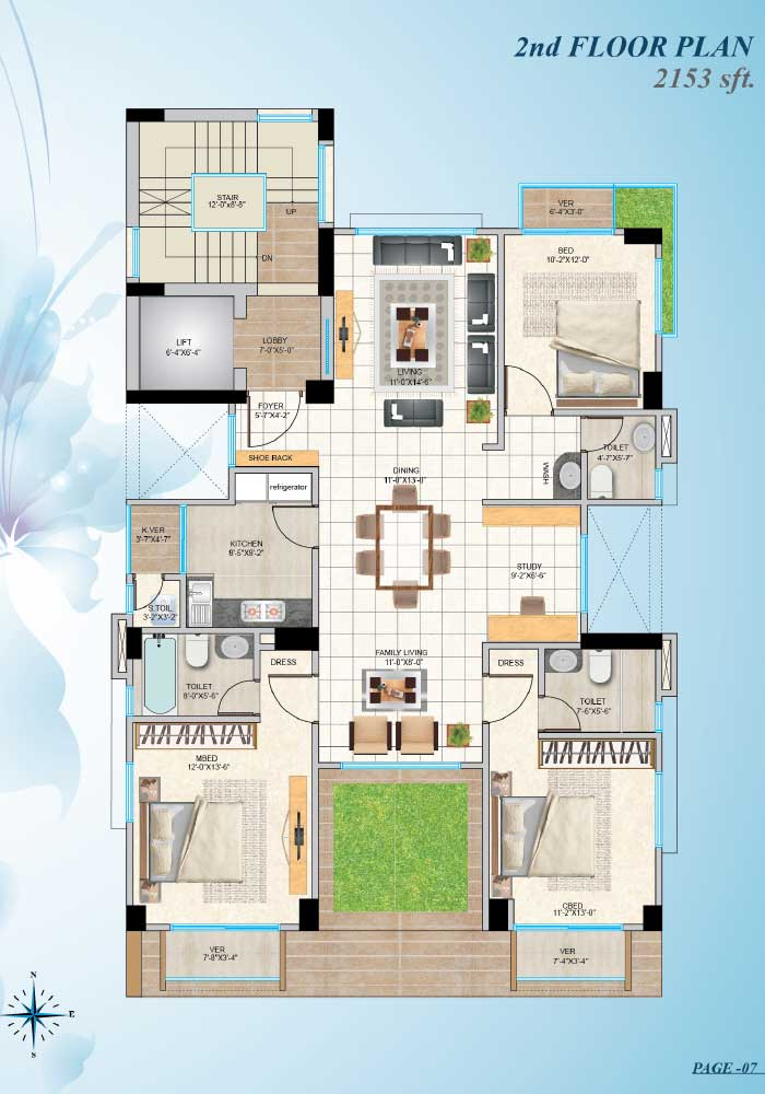 Assure Zaara 2nd Floorplan