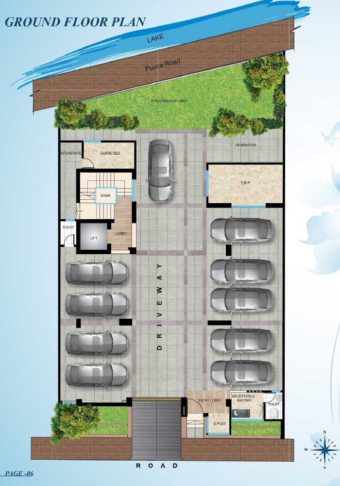 Assure Zaara Ground Floorplan