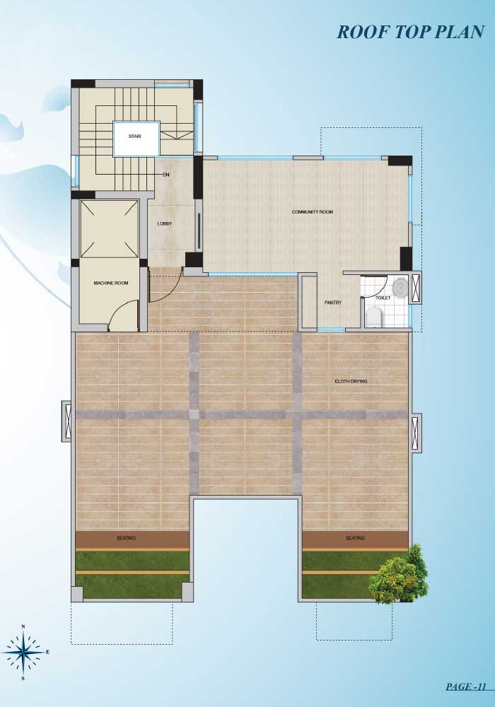 Assure Zaara Roof Top Plan