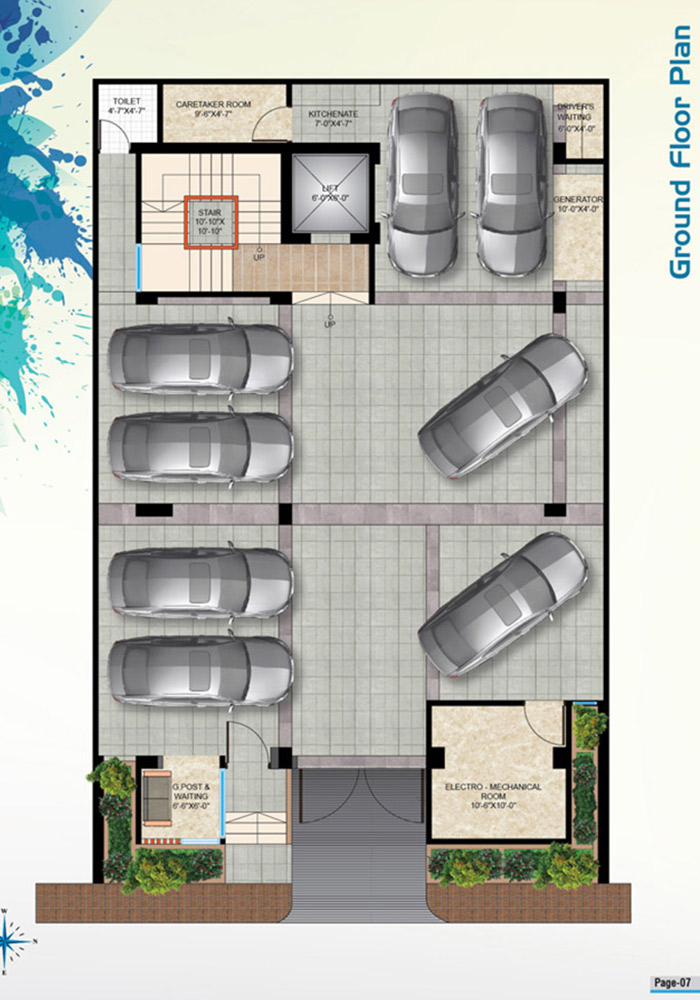 Mohsin Assure Rupantar Ground Floor Plan
