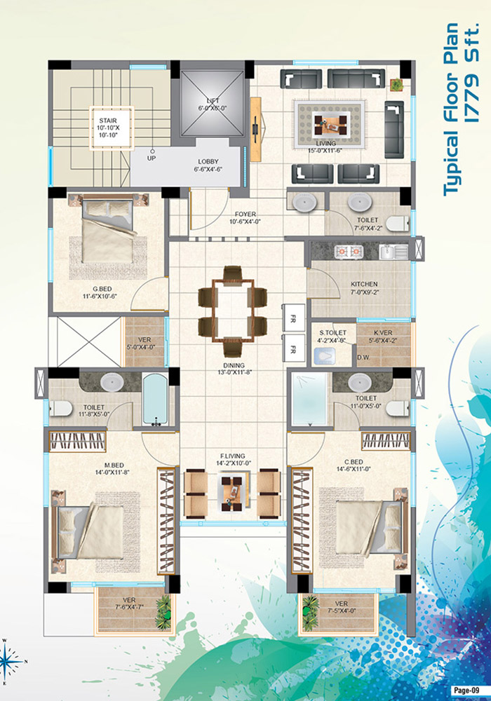 Mohsin Assure Rupantar Typical Floor Plan